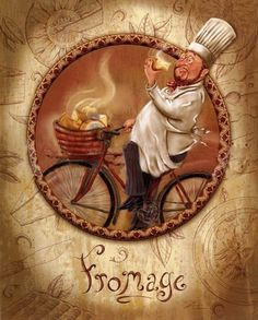 Chef / Images for decoupage / PassionForum Vintage Labels, Vintage Cards, Vintage Images, Vintage Posters, Vintage Prints, Images Victoriennes, Chef Images, Chef Pictures, In Vino Veritas