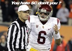 Yep... Pretty much!!! People can hate all they want but we are a Trojan nation!!!! Fight on USC Trojans!