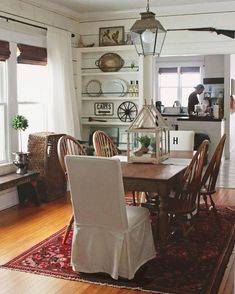 This Farmhouse Dining Room Is Incredible