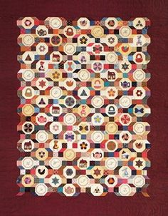 Another stunning new English Paper Pieced, Applique and Embroidery Block of the Month by Sue Daley. With a mix of over 150 different fabrics, this gorgeous quilt will be a treasures for generations.