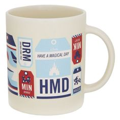 Disney TAG Travel Icons Mug - $6.99