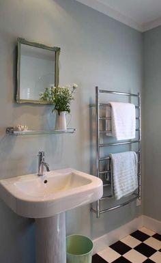 Bathroom ideas    Resene Periglacial Blue