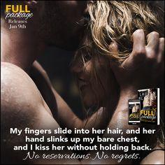 Full Package by Lauren Blakely Book Boyfriends, Romance Novels, Regrets, Her Hair, Books To Read, Packaging, Reading, Reading Books, Wrapping