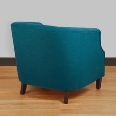Ansley Peacock Blue Tub Chair   Overstock.com Shopping - The Best Deals on Living Room Chairs