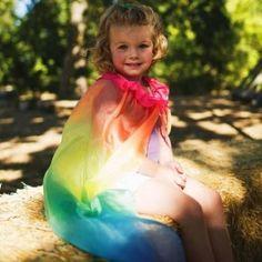 Rainbow Cape by Sarah's Silks