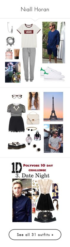 """Niall Horan"" by rumaisa-hadia ❤ liked on Polyvore featuring Topshop, Vans, adidas, Bling Jewelry, NARS Cosmetics, Christian Dior, love, Niall, NiallHoran and boyfriend"