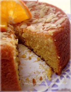 Torta all'arancia e mandorle senza farina Torte Cake, Cake & Co, Almond Paste Cookies, Sweetie Cake, Plum Cake, Beautiful Fruits, Let Them Eat Cake, Sweet Tooth, Food Porn