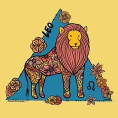 LEO Zodiac Art, Zodiac Signs, Leo Lion, Star Children, Troy, Consciousness, Positive Vibes, Astrology, Moose Art