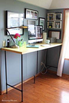 Charmant Inspiration For My Stand Up Desk | Home | Pinterest | Desks, Office Spaces  And Spaces