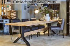 Oldwood exclusief en betaalbaar! De gezelligste woonwinkel van Nederland is nu 7 dagen per week geopend. Met ons aanbod stoere industriële meubels en de grootste collectie originele oude fabriekslampen en industriële lampen tegen de beste prijzen van Nede