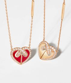 Two Hearts, Oras, Love Gifts, Diamond Pendant, Heart Shapes, Jewelry Collection, Jewerly, Gold Necklace, Pendants