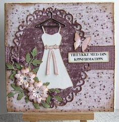 Massevis af kort til konfirmation - fødselsdag - sølvbryllup og bare fordi!
