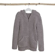 CozyChic® Youth Ribbed Hoodie | Barefoot Dreams