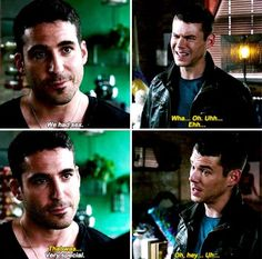 Sense8. Lito and Will.