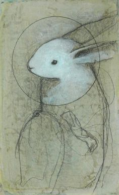 Spirit Guide: Rabbit No.2 by *SethFitts on deviantART (this is a great representation of a rabbit spirit guide)