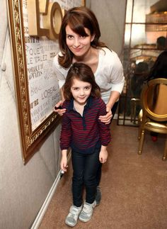 Tina Fey and Tiny Fey from 10 Celebrity Mother-Daughter Twinsets