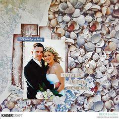 A Beachy Wedding by Beck Beattie - Kaisercraft Official Blog