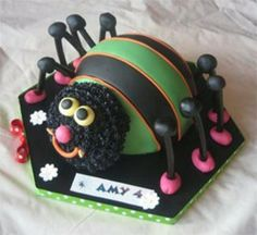 spider birthday cake decorating ideas for beginners