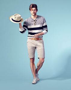 6d2cd5e365 Emporio  Armani sunglasses and striped sweater