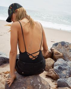 Backless Swimwear Inspo from & Other Stories, shop our edit of swimwear on Grazia- read more on http://lifestyle.one/grazia/fashion/shopping/swimwear-uk/