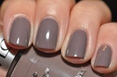 Revlon Top Speed Stormy-- on my nails right now.