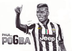 drawing of pogba - Google Search