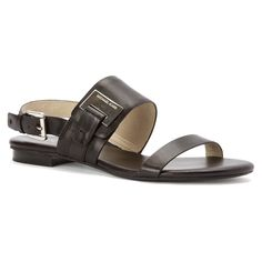 Michael Kors Women's Guiliana Flat Black Sandal * You can get additional details at the image link.