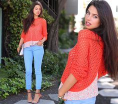 Crush on Color (by Annabelle Fleur) http://lookbook.nu/look/3333167-Crush-on-Color
