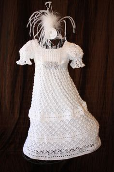 The Ava  Blessing / Christening Dress  by OopsieDaisyDesigns, $145.00