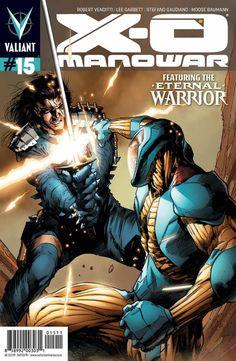 X-O Manowar #15 - Homecoming (Issue)