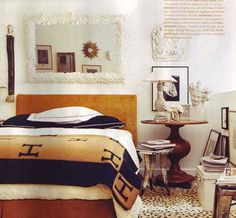 Cheetah carpeting that was featured in the home tour of Stephen Shubel in the May 2008 Domino.