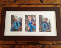 Fathers Day gift frame #DIY