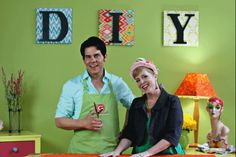 Sneak Peek DIY Doyenne TV with Margot Potter and Special Guest Stephen Brown of Glitterville!