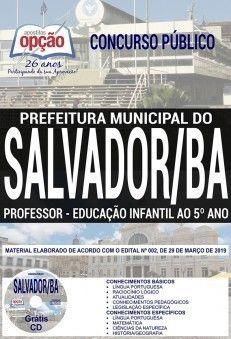 Apostila Professor Educacao Infantil Ao 5ºano Concurso