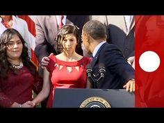 Karmel Allison, incinta e con diabete di tipo 1, ha quasi perso conoscenza mentre si trovava alla Casa Bianca duranta un discorso del presidente americano in difesa della riforma sanitaria.