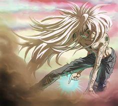 Yusuke in mazoku form