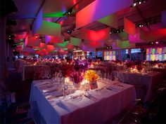 trends in large gala tent decor - Google Search
