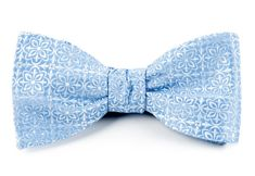 Opulent Light Blue Bow Tie with in. Light Blue Bow Tie, Blue Ties, Collar Stays, Elements Of Design, Silk Fabric, Bows, Pocket Squares, Prince