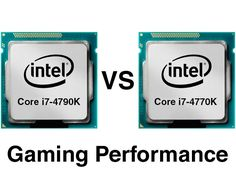Core i7-4790K vs i7-4770K Gaming-Performance - CPUs > CPU Gaming Performance - Reviews : ocaholic