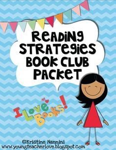 FREE! Reading Strategies Book Club Packet! Apply the six reading comprehension strategies to your book club or literature circle groups! FREE by Kristine Nannini