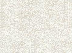 Goa Garden Upholstery Fabric Alabaster