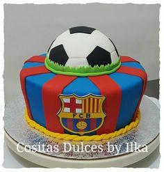 FCB FC Barcelona cake