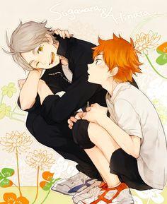 Haikyuu!! ~~ Sugawara and Hinata