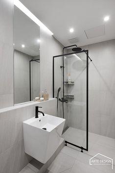 Bathroom Design Small, Apartment Interior, Home Kitchens, Dorm, Bathtub, Living Room, Interior Design, Bedroom, Bath Room