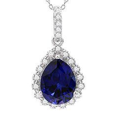 5//8ct AAA Black Diamond Solitaire Pendentif Femme Collier 14K or Jaune Round