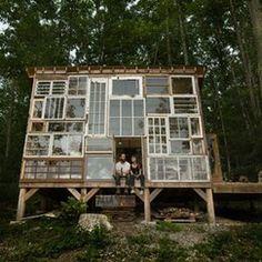 eine Waldhütte für uns:)
