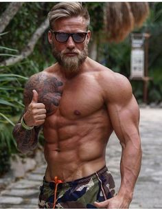 Manly Brute men hairy