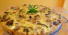 BACON COTTAGE QUICHE    An unusually good quiche! I was amazed how wonderful the cottage cheese and the mix of cheeses went toge...