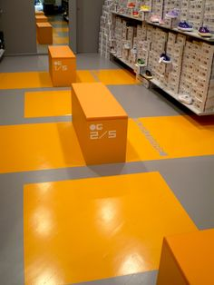 shoe store and concept