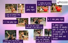 Jump and Burn Travel Workout from The Fitnessista -- guest post on my blog today! Click through for tips and modifications.